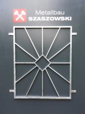 Fenstergitter - Modell Sonne - Raute