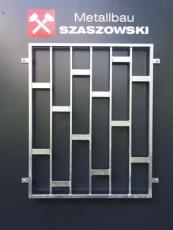 Fenstergitter - Modell Platten