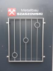 Fenstergitter Edelstahl - Modell Ringe