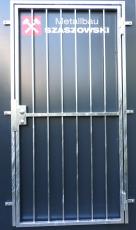 Gittertür - Modell Querstange