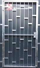 Gittertür - Modell Platten