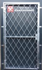 Gittertür - Modell Kreuz