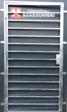 Gittertür - Modell Längsstreben