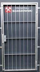 Gittertür - Modell Raster