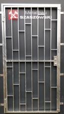 Gittertür - Modell Leiter