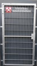 Gittertür - Modell Stabgitter