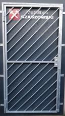 Gittertür - Modell Diagonal 1
