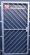 Gittertür - Modell Diagonal 2