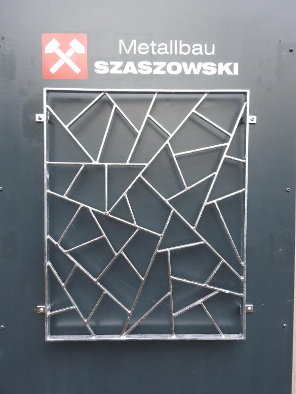 Fenstergitter Modell Modern 2
