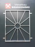 Fenstergitter - Modell Sonne