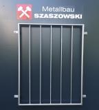 Fenstergitter Edelstahl - Modell Stange