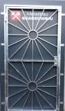Gittertür - Modell Sonne